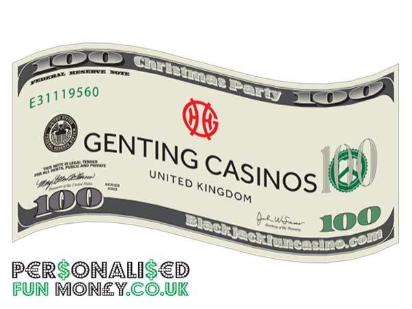 personalised dollar bills