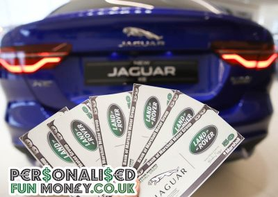 Branded Corporate fun money, add your logo