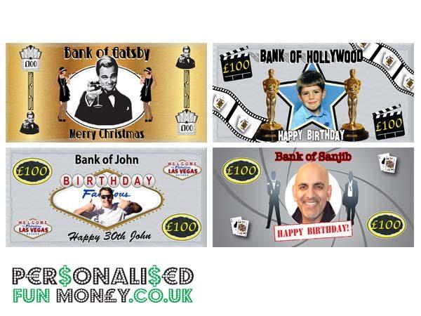 novelty bank notes