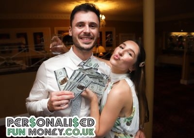 Personalised Wedding Funny Money with your picture on the dollars