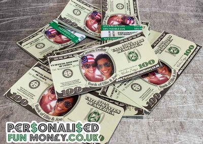 Fabulous wedding dollars with your special photo on