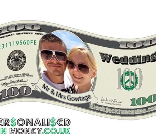 personalised dollar bills