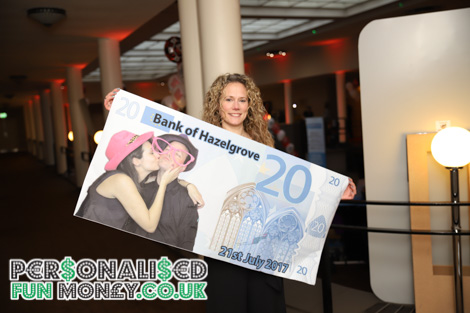 giant bank note
