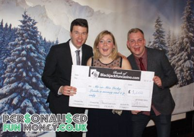 giant personalised cheques