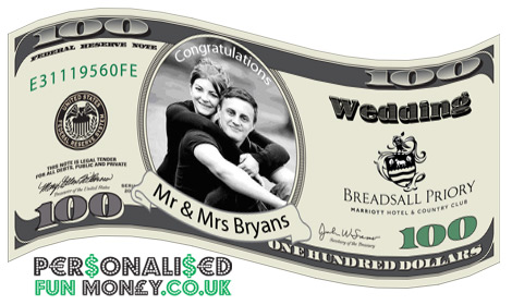 personalised fun money