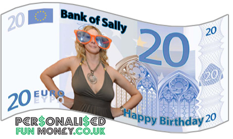 personalised fun money