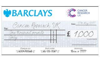 personalised giant cheques