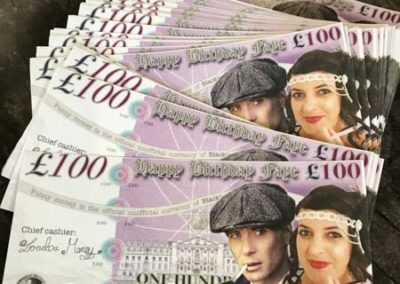 peaky blinder pound notes