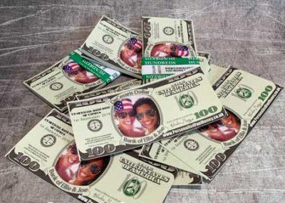 personalized dollar bills