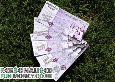 Bespoke, customised Mothers Day Vouchers