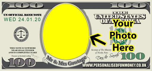 Add your photo to Dollar Bills