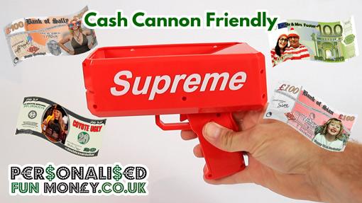 Fun Money For Cash Cannon