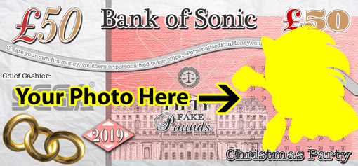 Personalised Pound Notes, upload your photo