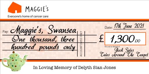 big charity presentation cheque