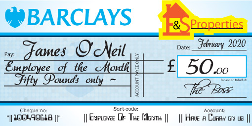 Giant Cheques - Add your logo on your