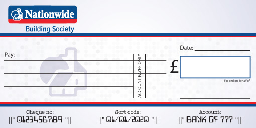 Nationwide Bank Cheque