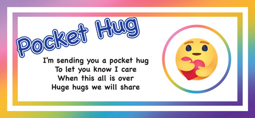Give a pocket hug to someone special