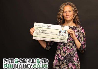 Lloyds Presentation Cheques