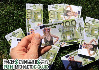 Euro Birthday bank notes