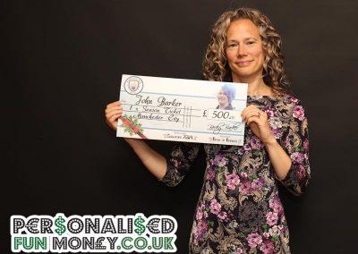 Giant Birthday Cheque