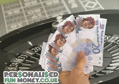 Personalised Novelty Euros