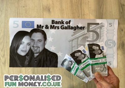 Wedding Novelty fun money