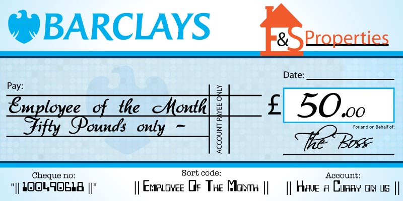 Example Presentation Cheque case study